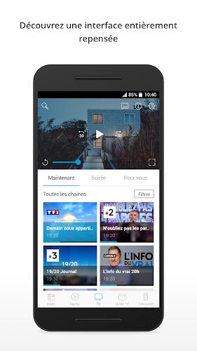 B.tv Android App Screenshot