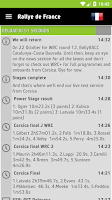 Screenshot of WRC – The Official App