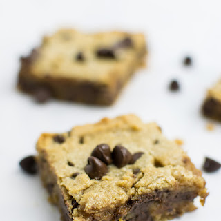 Peanut Butter & Chocolate Cookie Bars.