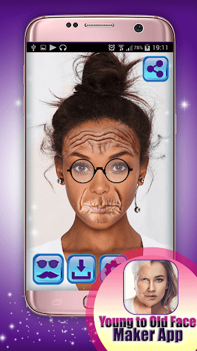 Young to Old Face Maker App 1.0 screenshots 1