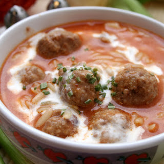 Paleo Meatball Soup In The Slow Cooker