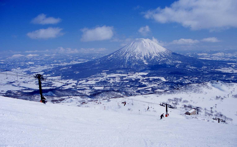 Khung cảnh tuyệt đẹp để trượt tuyết tại Niseko