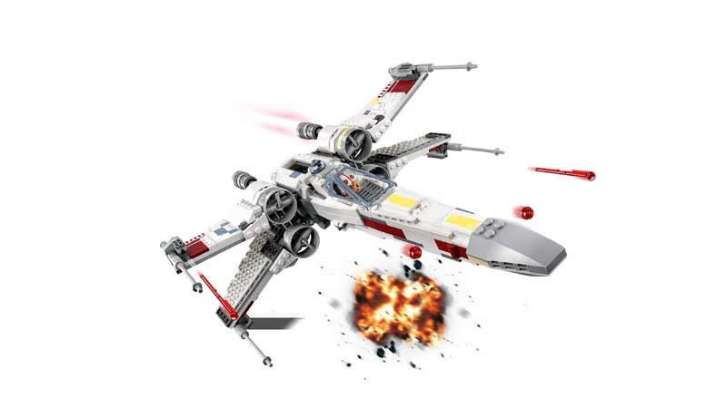 Contenido de Lego® 75218 Caza Estelar Ala-X