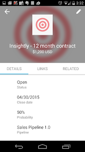 Insightly CRM- screenshot thumbnail