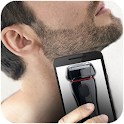 Virtual hair shaver icon