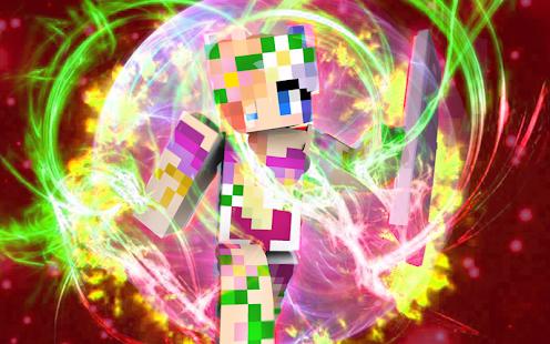 Fairy skins for Minecraft - náhled