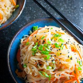 Shirataki Sesame Noodles.