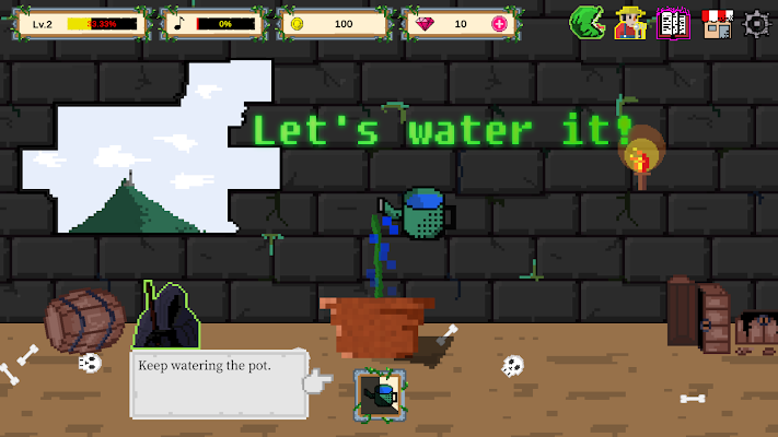 Man-Eating Plant VIP Screenshot Image