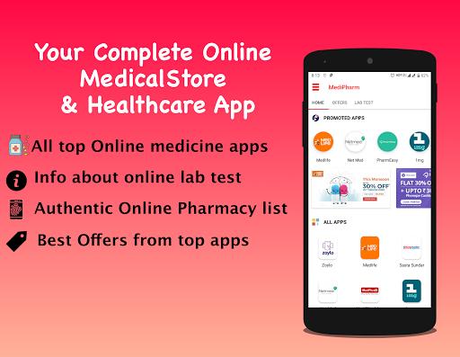 Download Online Pharmacy Netmeds Medlife 1mg PharmEasy 3.3 1