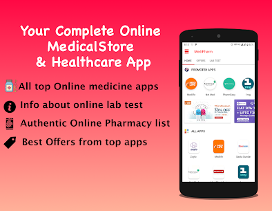 Online Pharmacy Netmeds Medlife 1mg PharmEasy App Download For Android 1