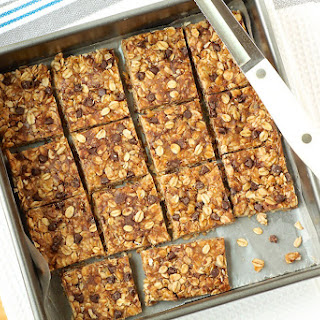 No-Bake Chewy Peanut Butter Granola Bars.