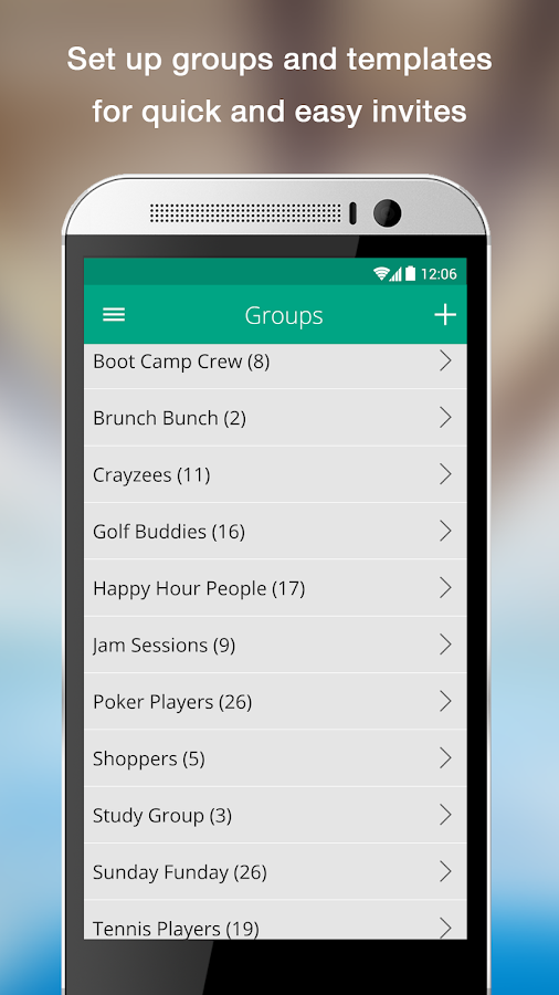 uVite - Group Activity Planner- screenshot