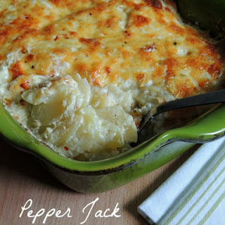 Pepper Jack Scalloped Potatoes