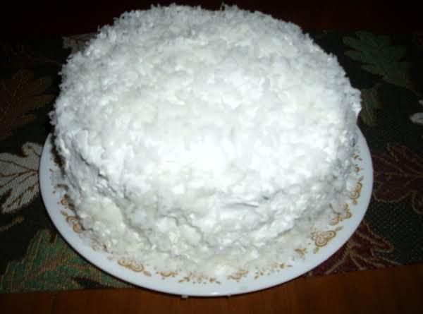 Supreme Coconut Cake Recipe