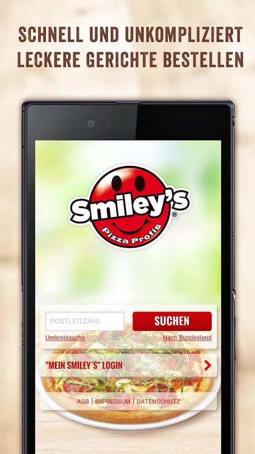 Smiley's Pizza Profis- screenshot