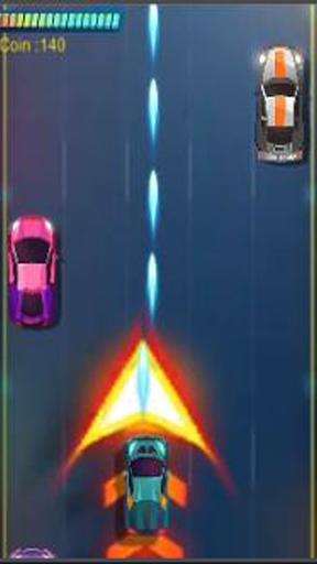 Télécharger Cyber Road Racing Shooter mod apk screenshots 2