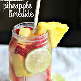 Tropical Infused Pineapple Limeaide Recipe