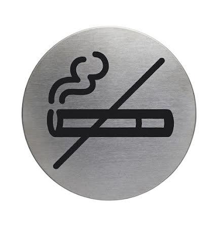 Skylt Rökning ej tillåten