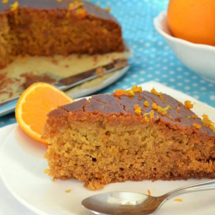 Greek Orange Cake [Vegan, Gluten-Free]