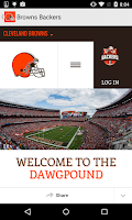 Screenshot of Cleveland Browns