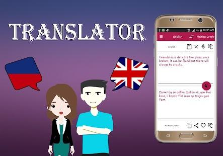 Haitian Creole To English Translator - náhled