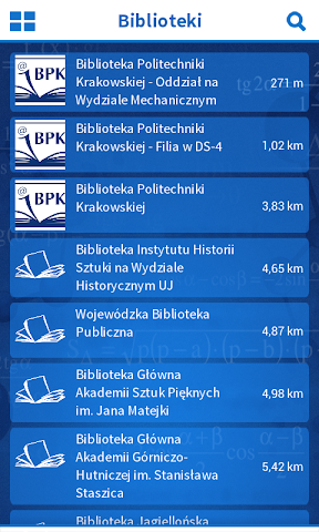 android Politechnika Krakowska Screenshot 4