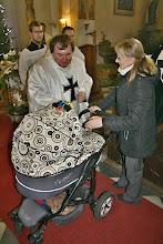 Photo: Závěrečné požehnání dětem...