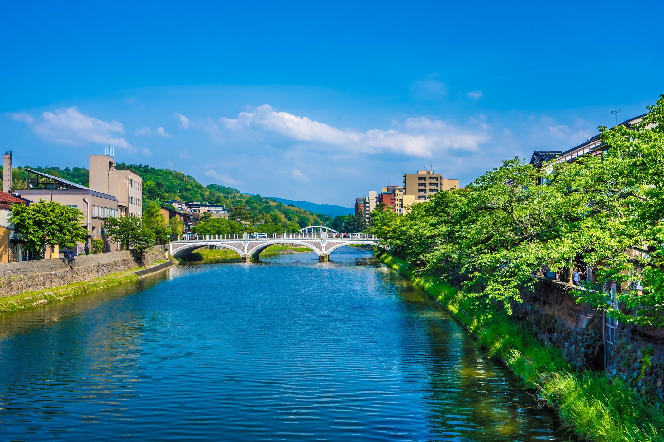 Kanazawa Asanogawa Ohashi Bridge