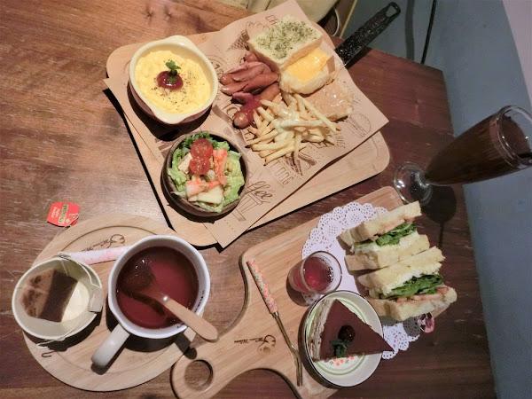 MinouMinou Cafe| 食記|台北|中正區|公館|有貓咪陪伴的早午餐