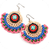 Crochet Earring Designs