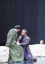Photo: Wiener Staatsoper: DIE WALKÜRE am 13.1.2016. Michaela Schuster, Tomasz Konieczny. Copyright: Wiener Staatsoper/ Michael Pöhn