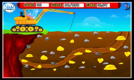 吊車黃金礦工