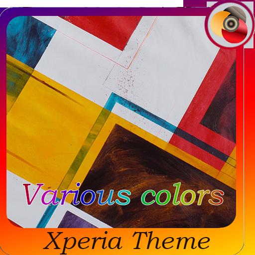 Various colors | Xperia™ Theme