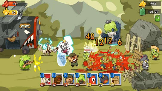 Zombie Defense 2: Offline TD Games Mod Apk (Unlimited Money) 0.7.9 2