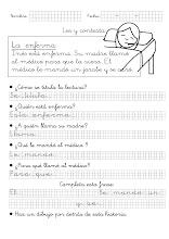 Photo: La enferma (1º Primaria)