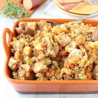 Gluten Free Sweet Potato Stuffing