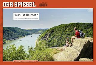 Photo: Rheinstieg bei St. Goarshausen, Rheinland-Pfalz