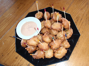 Photo: Conch Fritters at the Andros Island Bonefish Club