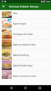 Delicious  Diabetic Recipes screenshot 1