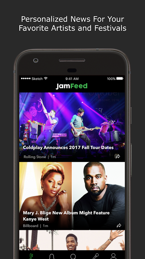 JamFeed- screenshot