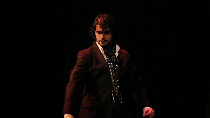 Pol Vaquero durante una actuación.