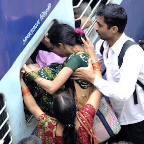 enter at window by Rajesh Kumar - Transportation Trains