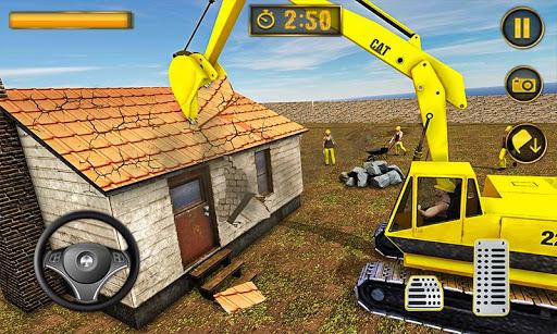 Wrecking Crane Simulator 2019: House Moving Game ss1