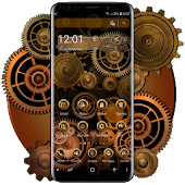 Mechanical Gear Theme Android APK Download Free By Fancy Theme Palace