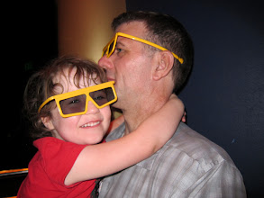 Photo: Going into a 3-D Show at the Magic Kingdom