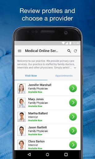 IU Health Virtual Visits screenshot 2