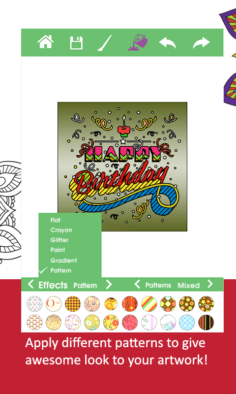 Coloring-Adult Recoloring Book- screenshot