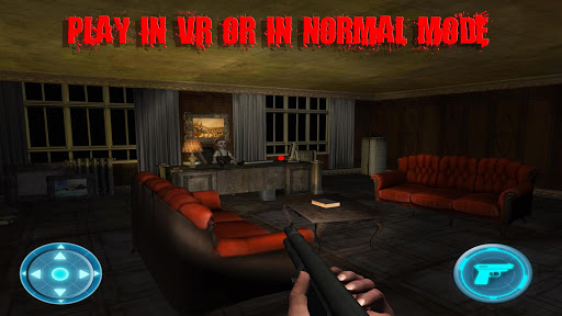 VR Escape Horror House 3D  captures d'écran 2