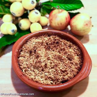 Loquat Apple Crumble