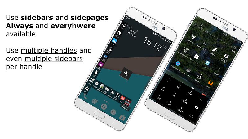 Everywhere Launcher - Sidebar Edge Launcher Screenshot 0
